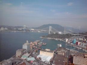 日本の近代産業発祥の地の一つ、門司港。One of birthplaces of Japanese modern industries, Moji Port.
