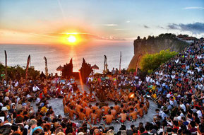 Danza Kecac al tramonto, Uluwatu