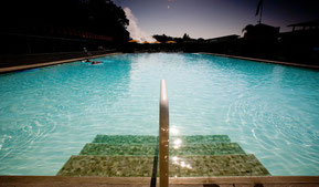 'holding pond': the pool at indian springs