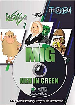 CD-Cover MIG Kurzhörspiel mit Postkarte