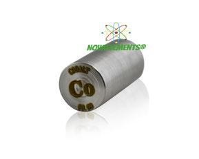 cobalt metal rod, cobalt rod, elements sampels rod, metals rods, metal rod, cobalt metal, cobalt rod for element collection