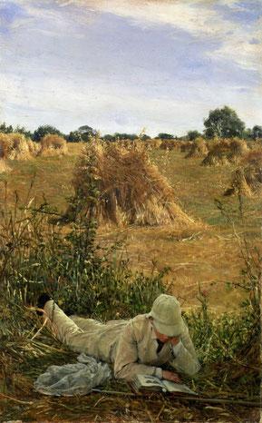 ꧁ Sir Lawrence Alma-Tadema, 94 Degrees in the Shade, 1876 ꧂