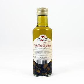 Bestes Trüffelöl kaufen - Trüffel-Öl Olive in Glasflasche