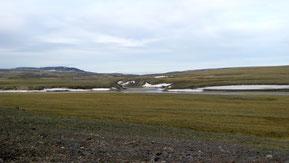 Paisaje siberiano en la Península de Taimyr, Rusia. Foto: wikipedia.org / Vladislav Kyamyarya