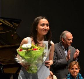 ゴウ芽里沙 エピナル国際ピアノコンクール