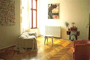 Berliner Zimmer als Wohnzimmer