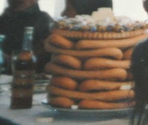 結婚披露宴にヘビーンボーブ(1985年5月)