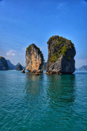 Halong Bucht, Halong Bay, Backpacker, Vietnam, Asien, Südostasien, Zwei auf Achse, Rucksackreise, Rucksack, Reiseblog,