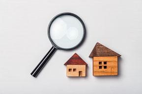 不動産売却する物件の物件調査を行う