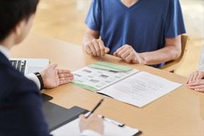 不動産売却にあたりお客様と媒介契約を締結する