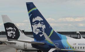 Alaska Airlines, nice Airplains