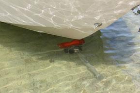Einsatz Slipvorrichtung für Boote
