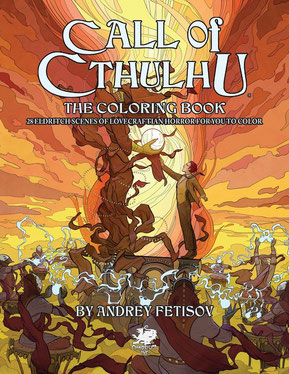 Call of Cthulhu Coloring Book