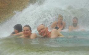Italien, Toskana, Urlaub, Radreisen, Velotraum, Radfahren, Saturnia, baden , heiße Quellen
