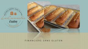financier sans gluten - à emporter Bordeaux - France - Paris