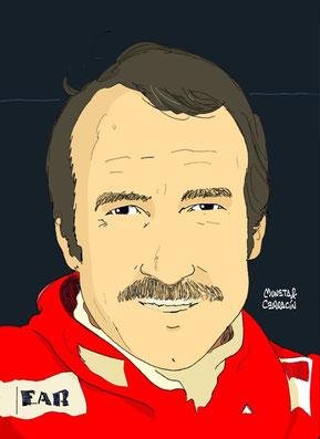 Gian-Claudio Giuseppe Regazzoni by Muneta & Cerracín