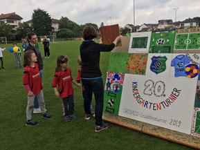 Tolles Mosaik kreiert von den Kindern!