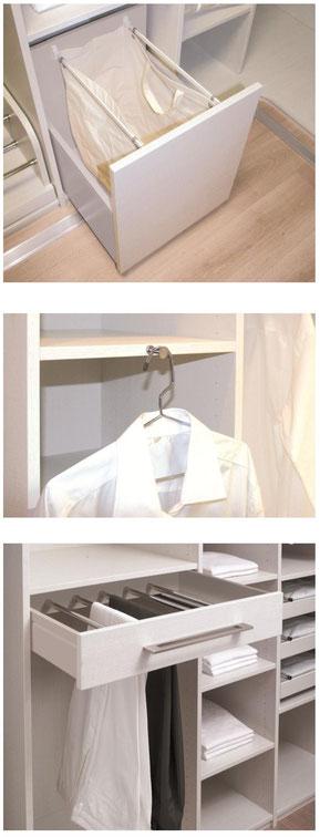©Coulidoor, accessoires de dressing pour buanderie