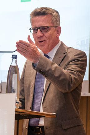 Bundesinnenminister Thomas de Maizière (Foto: Wolf Lux)