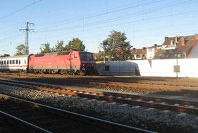 Die Bahnlinie durch Findorff ist eine große Lärmquelle