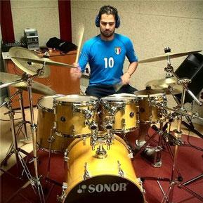 Luis Tello Cardoso, profesor de bateria y percusion,  Escuela de Música Guadalajara