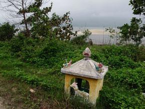 kleiner Altar an der Strasse