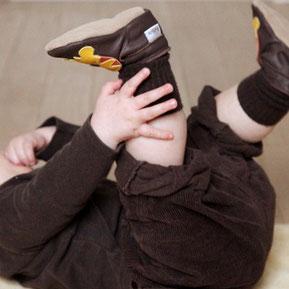 bobux chaussons en cuir bébé soft soles