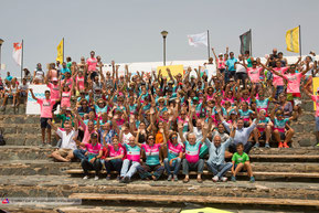 Alle Teilnehmer des Wind & Waves Festivals in Pozo