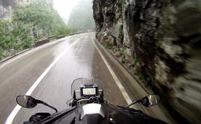 Montenegro bei Regen
