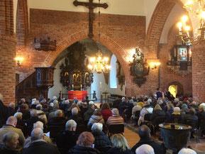 Eckernförde St. Nicolai, Zustand bei der Wieder-Einweihung Januar 2019
