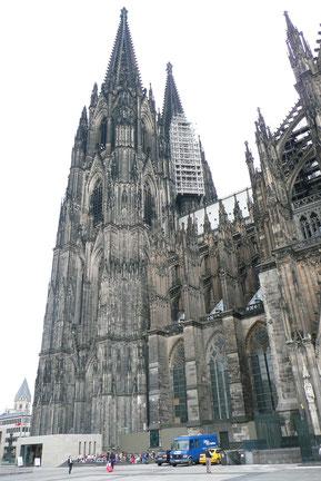 Außenansicht vom Hohen Dom zu Köln