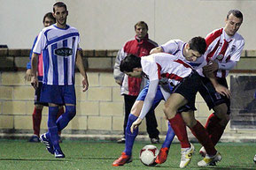 El Laudio venció por 0-1 en Tabira. Foto: Jon Iglesias.