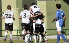 El Burgos se proclamó ayer campeón de Castilla y León. Foto: www.burgoscf.es