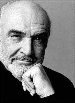Sean Connery, Soleil conjoint Neptune en Vierge, maison VII.