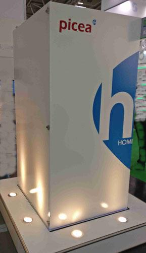 HPS Wasserstoff Speicher Picea Bilder Markenzeichen der HPS Home Power Solutions GmbH Foto Solarstrom Simon