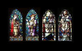 Die neuen Fenster in der Sakristei - Foto: HPD