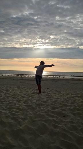 Strand von Ameland Niederlande