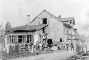 Schlosserei Gast Ende des 19. Jahrhunderts
