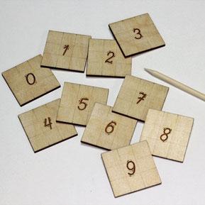 Учене на цифрите чрез игра