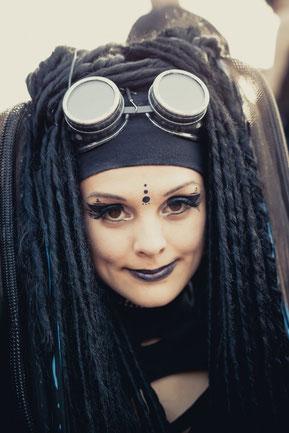 Ciwana Black - Amphi Festival 2013 - with cyber falls