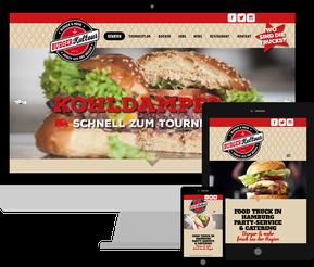 Jimdo Webdesign Burgerkultour Hamburg