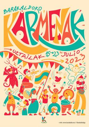 Fiestas en Barakaldo Karmenak Jaiak