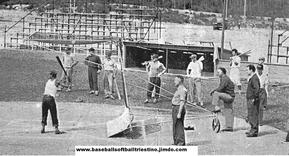 Il campo Soldiers Field di Villa Opicina (foto tratta dal sito Baseballsoftballtriestino)