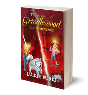 Book cover for The Secrets of Grindlewood Book 1