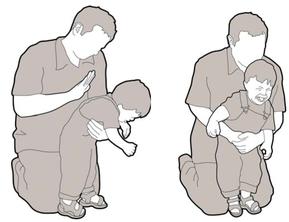 Atragantamiento en niños de 1 a 8 años