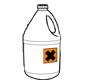 pollution dans les canalisations déchets