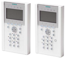 Siemens SPC Alarmzentralen Bedienteil, presented by SafeTech