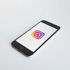 Smartphone Instagram App