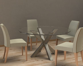 pied de table sur-mesure en inox by piedtable.fr
