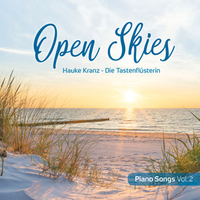 "Coverfoto CD ""Open Skies"""